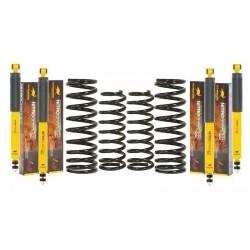 Kit suspension O.M.E. SPORT+50mm HEAVY DUTY LJ70/73 ph2 et KZJ7