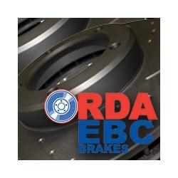 jeu de disque RDA rainurés percés TOYOTA série 12