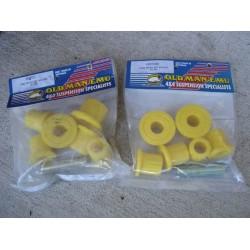 Kit bagues de lames polyurethane O.M.E. essieu AV ou AR BJ/HZJ