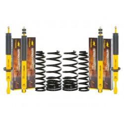 Kit suspension O.M.E. SPORT +50mm HEAVY DUTY KDJ 120/125